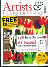 Artists & Illustrators Magazine May 2018 With Voucher From Great Art