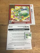 Yoshis New Island Nintendo 3DS Authentic Tested free shipping