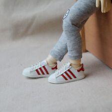 "White Sports Shoes AD Running Flats For 1//6 11/"" 27/"" BJD doll AOD YOSD DOD DK"