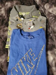 Lot Of 3 Boys Shirts Size 10/12 Nike Looney Tunes The Childrens Place