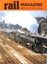 Rail magazine n°31 - 1979 - Nice Coni - MI 79 - la fin des 241 P - Mariembourg