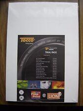 Ensayo de papel fotográfico Tecco Pack 26 hojas de 2 X 13 diferentes Tecco papeles