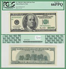 2006 Star $100 New York Federal Reserve Note PCGS 66 PPQ Gem New Unc FRN