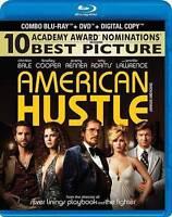 American Hustle (Blu-ray/DVD, 2014, 2-Disc Set) BRAND NEW SEALED