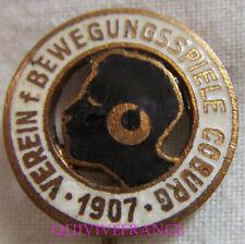 BG9564 - Verein Bewegungsspiele VfB Coburg 1907  FOOTBALL CLUB Badge PIN