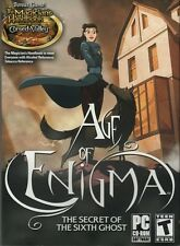 AGE OF ENIGMA Secret of the Sixth Ghost +MAGICIANS HANDBOOK Hidden Object PC NEW