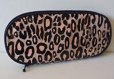 Mac Gold Animal Print Makeup / Brush Bag, Designed by Liz 00004000  Goldwyn, Brand New!