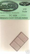 German Cuff Titles WW II(1/35th ) by TechStar #TC1028