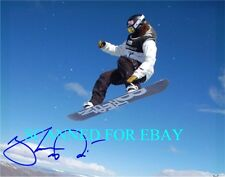 SHAUN WHITE SIGNED AUTOGRAPHED GOT AIR 8x10 PHOTO RP OLYMPICS GOLD MEDAL SHAWN