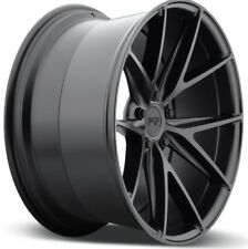 19x8.5 NICHE MISANO M117 5x120 +35 Matte Black Wheels New Set