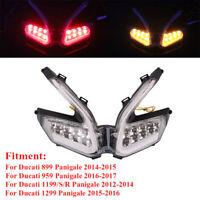 LED Tail Light Brake Turn Signal Indicator for Ducati 1199 899 959 1299 Panigale