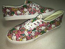 HELLO KITTY VANS Lo Pro Skate Shoes Bubble Gum Pink SNEAKERS Flats WOMENS SZ 8.5