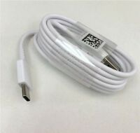 OEM WHITE USB-C 3.1 Type C Cable Fast Charge Cord fits Samsung S8 Plus LG G5 G6