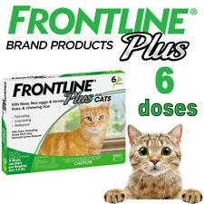 2020 New Frontline Plus for Cats/Kittens Flea & Tick Treatment Control - 6 Doses