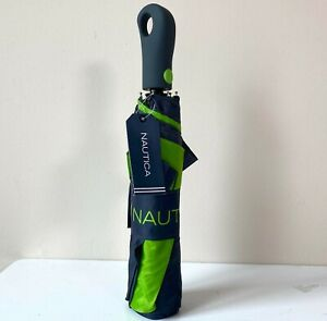 Limited Edition Green Nautica Umbrella BRAND NEW WITH TAGS