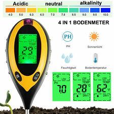 4 in 1 Soil Tester PH Water Moisture Light Test Meter For Garden Plant Seeding