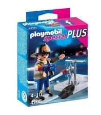 Playmobil especial - Special Plus 4795 jefe de bomberos con hidrante