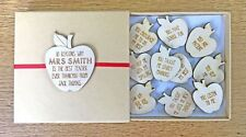 Personalised Teacher Gifts Thankyou School Nursery Teaching Assistant Gifts