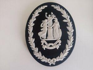 Wedgwood Black Jasperware Limited Edition WW1 Commemorative Medallion
