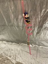 Minnie Mouse Pink Sipper Straw New Applause Disney