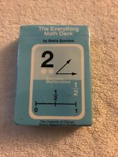 McGraw &Hill The Everything Math Deck Brand New