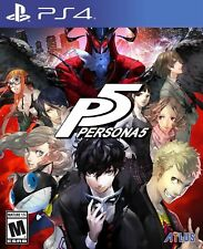 PS4 Persona 5 Standard Edition NEW Sealed REGION FREE USA Game P5 Plays on all!