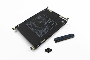 NEW HP EliteBook 2560p 2570p SATA Hard Drive Caddy with Connector screws US