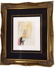 "Salvador Dali Wood block Color Print 1964. ""Divine Comedy"" COA by Bruce Hochman"