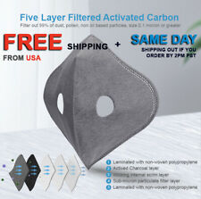 Active Carbon 5 Layer Protective Filters 5 Pcs Pack