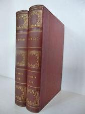 HUGO (Victor). Le Rhin. Edition originale. Renouard et cie, 1845