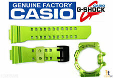 CASIO G-Shock G'Mix GBA-400-3B Original Green Rubber Watch BAND & BEZEL Combo