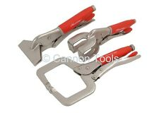 Neilsen Welding Clamp Set Grip Vice Mole Soft Grip Welding Panel Car / 1460
