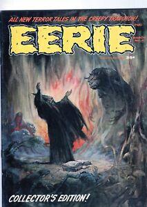EERIE #2 Magazine horror comic book Frazetta cover - 1966-NICE! NO RESERVE!!!