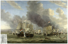 "Maritime ""The Battle of Livorno"" Reinier Nooms ca. 1660"