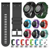 Quick Install Silicone Rubber Band Watch Wrist Straps For Garmin Fenix 5 5X 5S