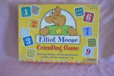 Vintage Elliot Moose Counting Games Matching, Memory, and Guessing Games To Play