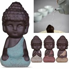 Mini small buddha statue monk figurine tathagata India Yoga Mandala Sculptures
