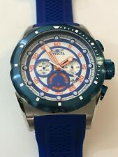 Invicta Men's 20304 Speedway Stainless Steel Watch with Blue Band