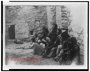 New Art Print 1907 Edward Curtis Photo Hopi Life New Mexico 11X17