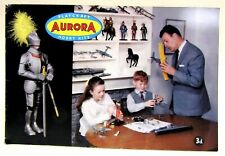 rare circa 1957 AURORA PLAYCRAFT model kit Catalog from England