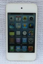 Apple White I Pod Touch 8gb 4th Generation Working Excellent Condition