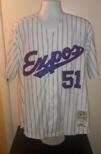 Randy Johnson Montreal Expos 1982 Mitchell and Ness Retro Jersey L