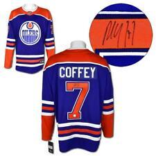 Paul Coffey Edmonton Oilers Autographed Fanatics Alternate Replica Hockey Jersey