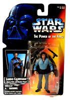 Kenner Star Wars POTF Power of the Force Lando Calrissian Action Figure NIB d685