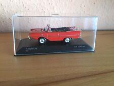 Minichamps Amphicar rot 1:43 unbespielt limitiert Modellauto