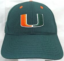 Miami Hurricanes NCAA Top of the World fitted cap/hat