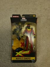 Marvel Legends Sunspot action figure Strong Guy BAF Wave X-Men NIB