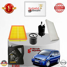 Replacement Filter Kit+Oil Opel Zafira a 2.0 OPC 141kw 192cv from 2004 -> 2005