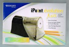 Electric Pencil Sharpener Westcott iPoint Evolution Axis #15510 Moderate Use