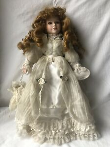 Knightsbridge Collection Hand Painted Porcelain Doll - Desiree (No 1)
